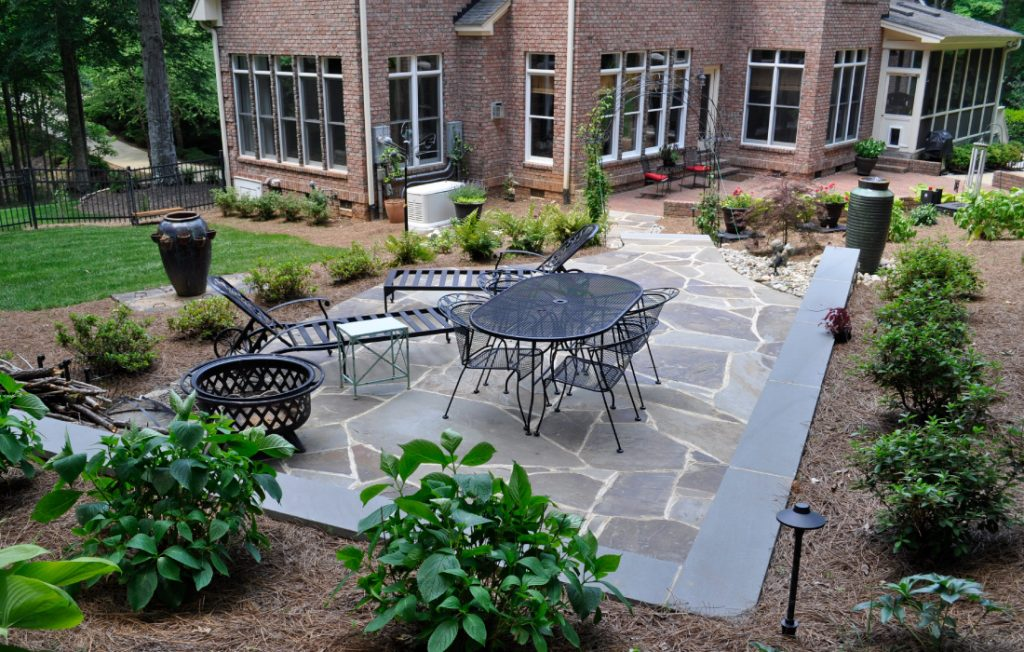 Drip irrigation water system for your yard near Raleigh Durham, NC.